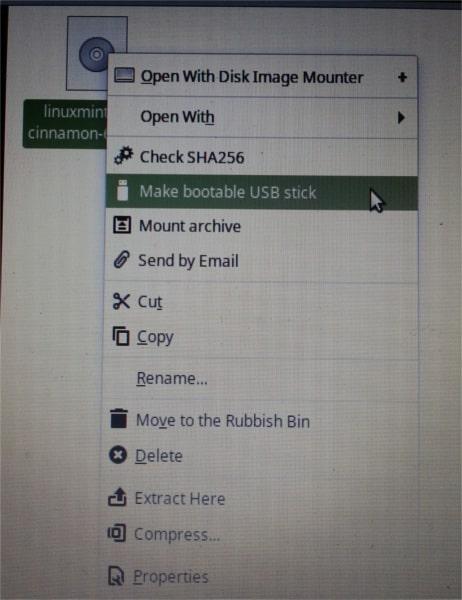 write image file