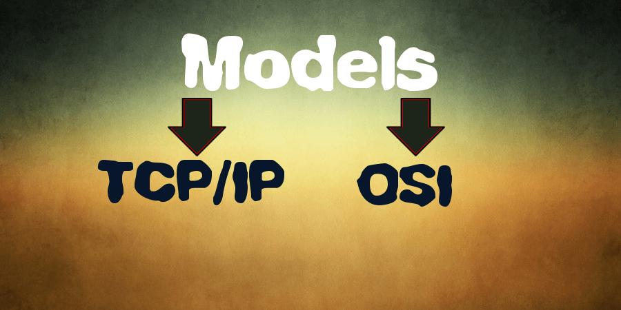 osi and tcpip model