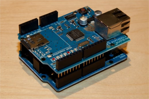 arduino with ethernet shield