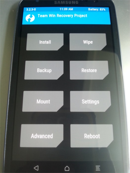 TWRP Recovery i9300