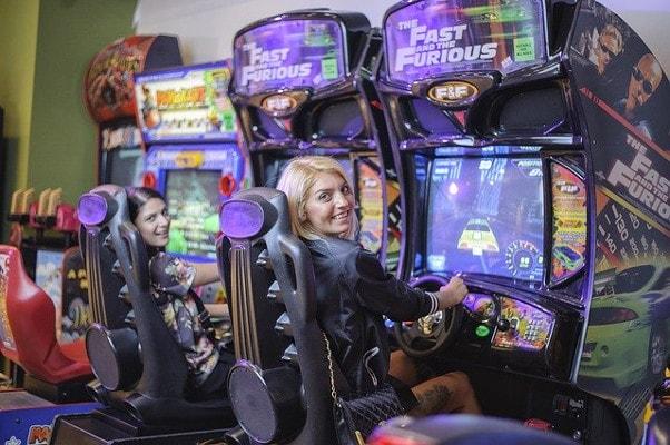 home entertainment arcade