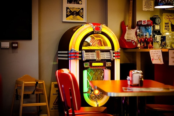 home entertainment jukebox
