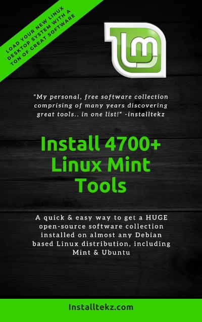linux mint tools pdf