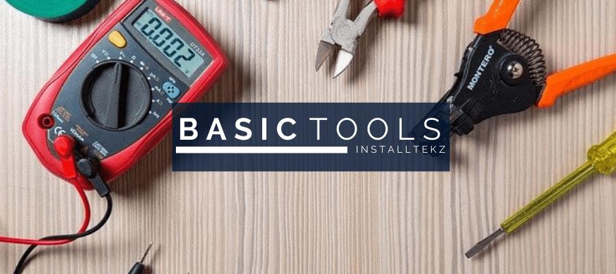 basic hand tools electronics IoT