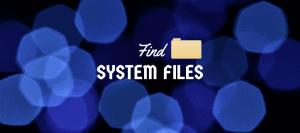 Find Linux System Files