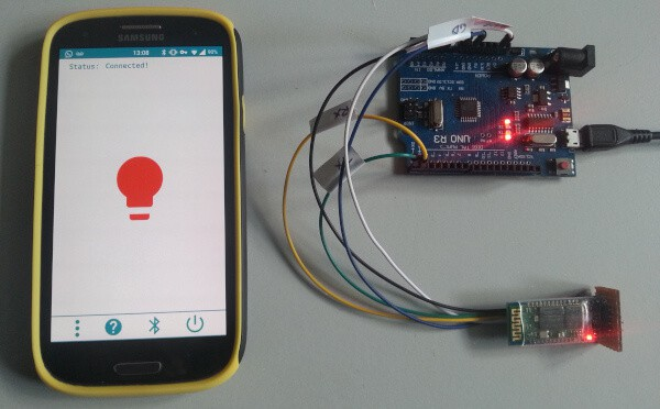 Bluetooth Arduino LED Android FREE Kodular App