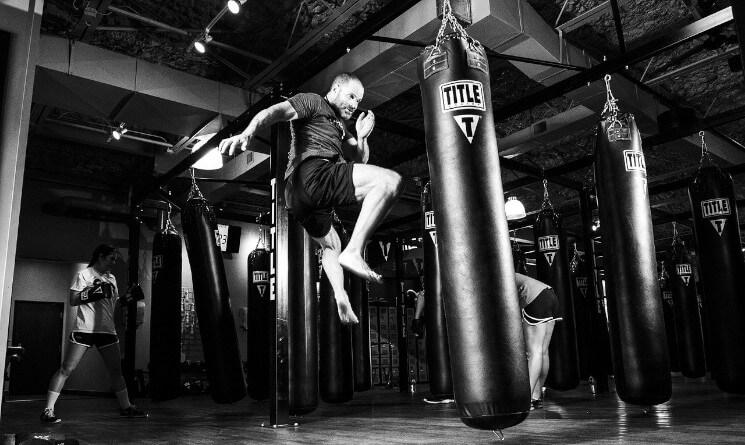 DIY IoT Fitness Project Ideas MMA boxing bag