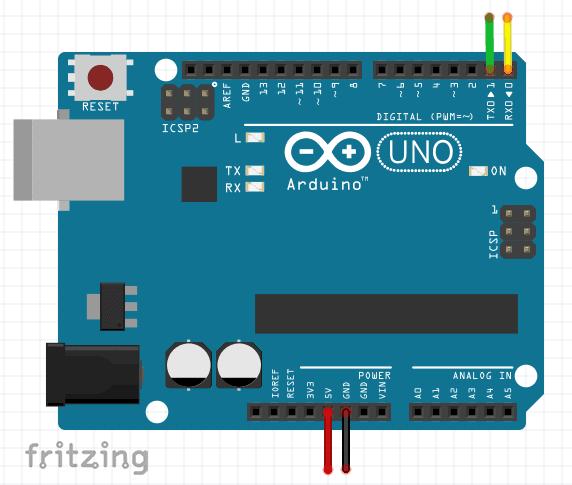 Arduino Uno To Bluetooth Module