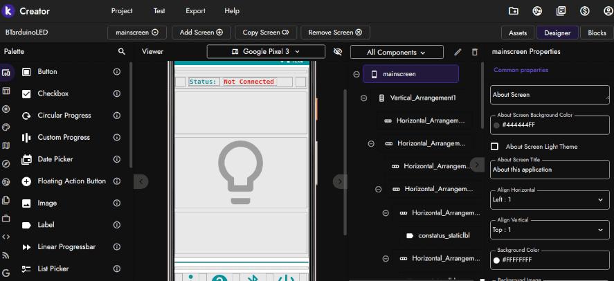 Kodular app screenshot